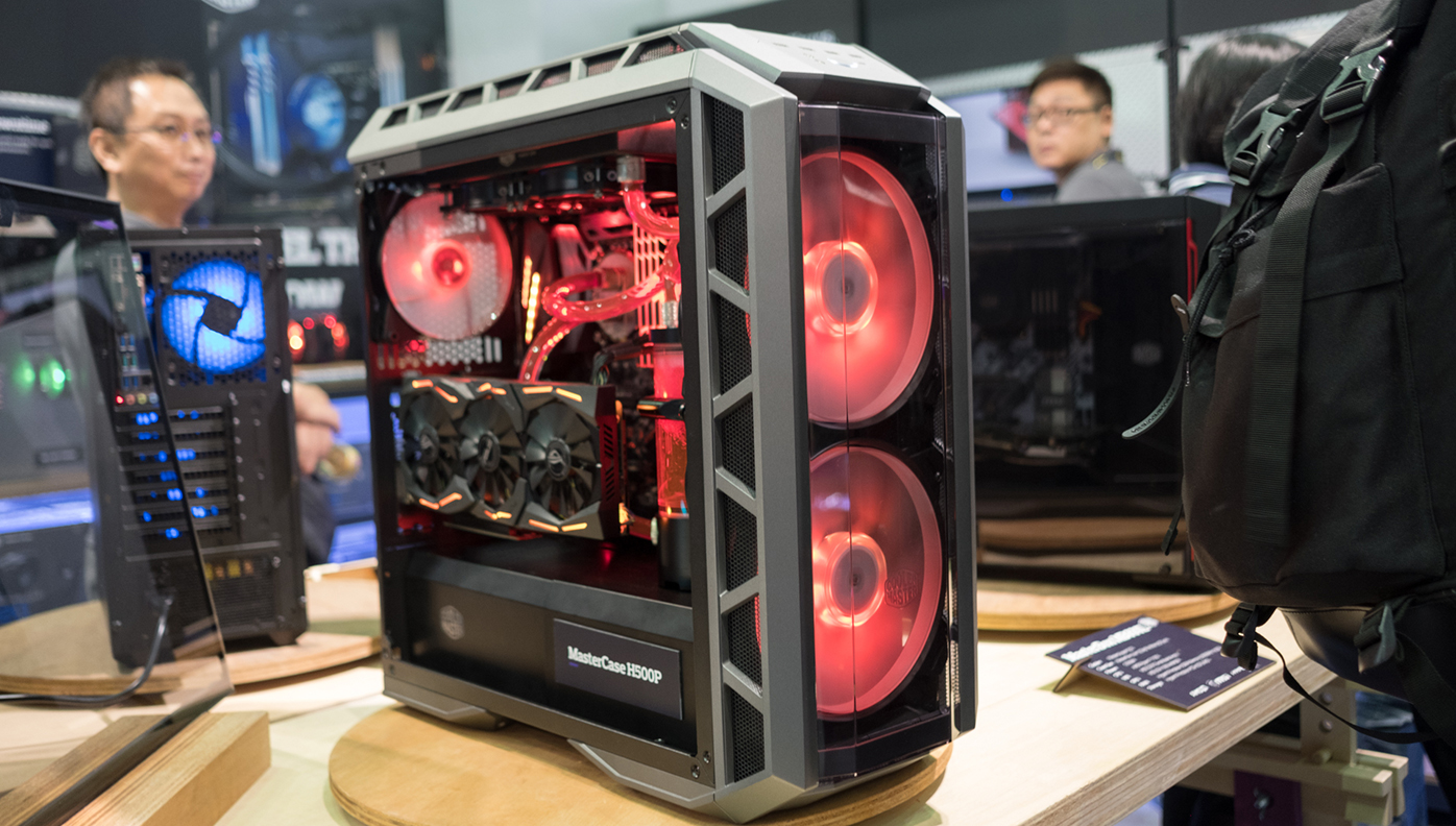 tempered glass pc case mid tower