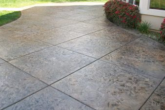 types of stamped concrete