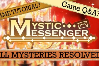 mystic messenger text guide