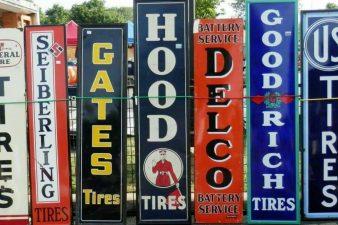 vintage wooden signs for sale