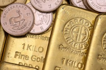 Gold Bullion As Central Banks Buy More Debt