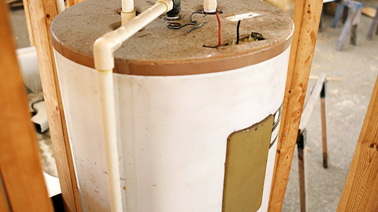 hot water tank service